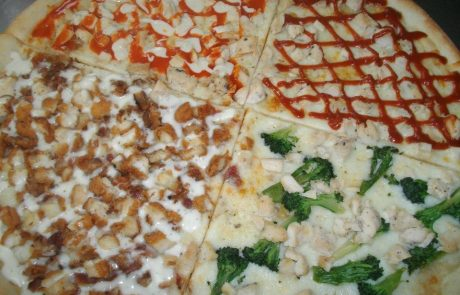 Various Pizza Slices